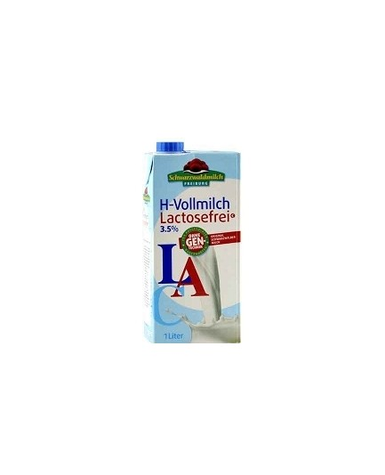 Mleko bez laktozy 3,5% tł. 1l