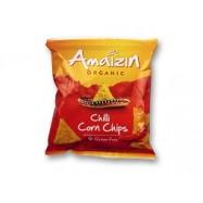 Chipsy kukurydziane chili bio 75g