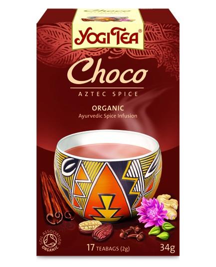 Herbata czekoladowa bio 17t.
