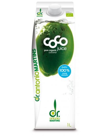 Woda kokosowa naturalna bio 500ml
