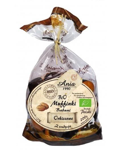 Bio Muffinki Babuni kakaowe bio 200g