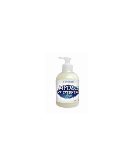 Mydło naturalne wykonywane ręcznie ze srebrem 100g