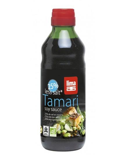 Sos Tamari 25% mniej soli bio 250ml
