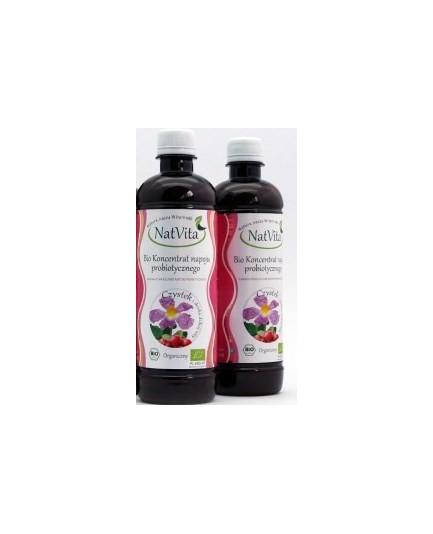 Probiotyk koncentrat napoju probiotycznego - czystek i dzika róża