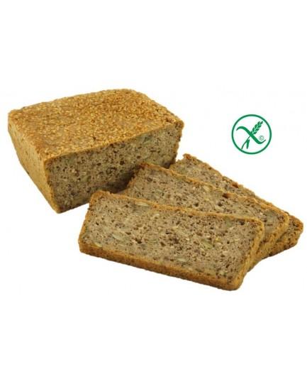 Bezglutenowy chleb gryczano-amarantusowy na zakwasie - Babunia