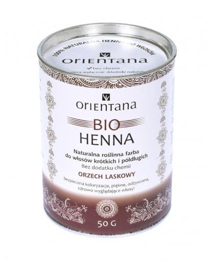 Bio Henna ORZECH LASKOWY do włosów długich 100g
