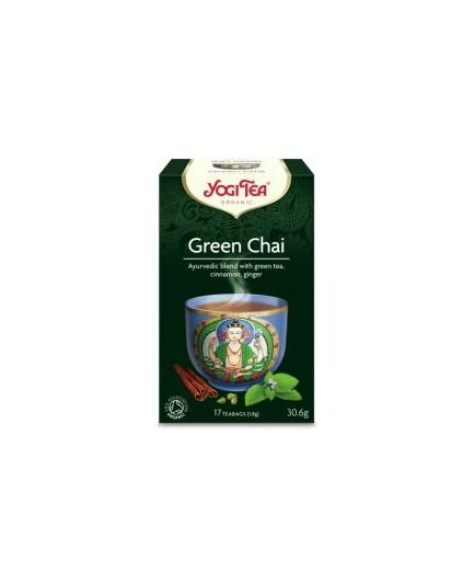 Herbata zielona Green Chai Yogi Tea Bio 17t.