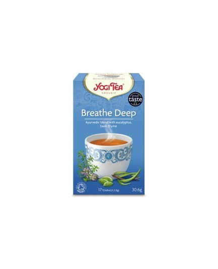 Herbata Swobodny oddech Yogi Tea Bio 17t.