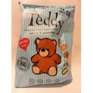 Bezglutenowe chrupki kukurydziane Teddy marchew i dynia bio 4x15g