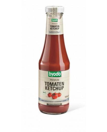 Ketchup bez cukru (słodzony syropem z agawy) bio 500ml