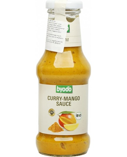 Sos curry-mango bezglutenowy 250ml