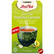 Herbata zielona matcha z cytryną Bio