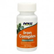 NOW IRON COMPLEX 100TABL.