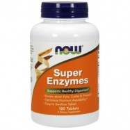 NOW SUPER ENZYMES 180TABL.