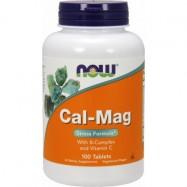 NOW FOODS CAL-MAG STRESS FORMULA 100KAPS