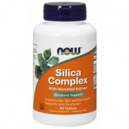 NOW FOODS SILICA COMPLEX 500MG 90TABL.