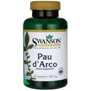 Pau D'Arco 500mg 100kaps SWANSON