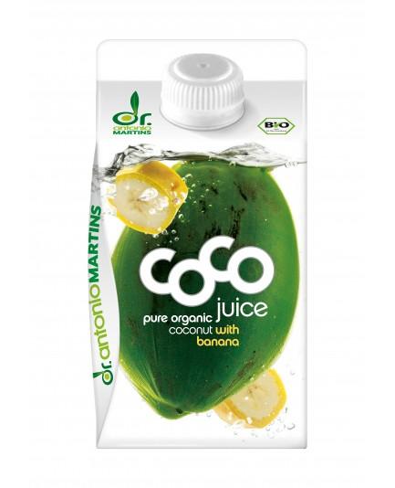 Woda kokosowa z ananasem i acerolą bio 500ml
