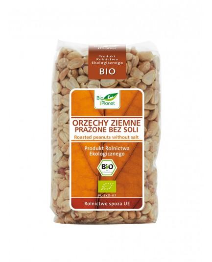 Orzechy ziemne prażone bez soli bio 350g