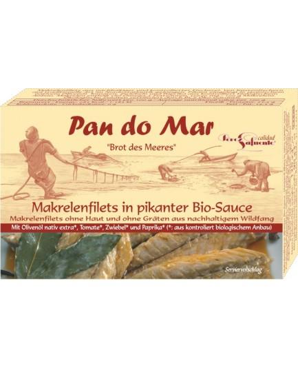 Filety z makreli w ekologicznej oliwie z oliwek 120g