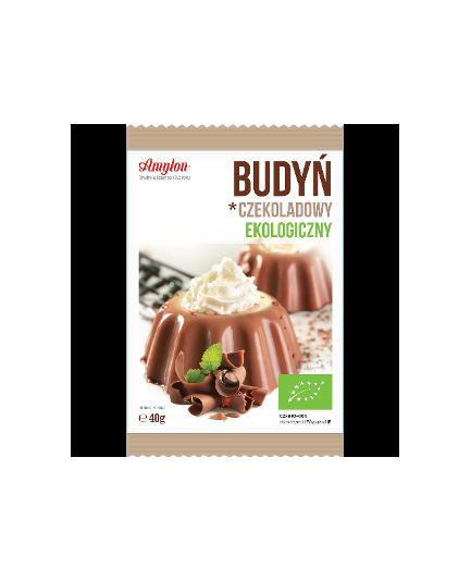 Budyń ekologiczny o smaku czekoladowym 40g