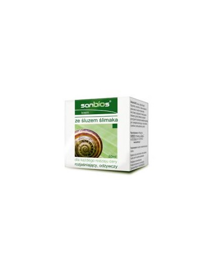 Krem ze śluzem ślimaka do każdego rodzaju cery 50ml