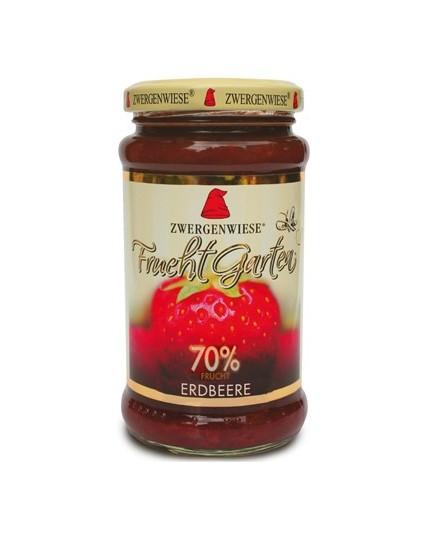 Mus truskawkowy 70% owoców bezglutenowy BIO 225g