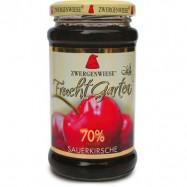 Mus wiśniowy 70% owoców bezglutenowy Bio 225g