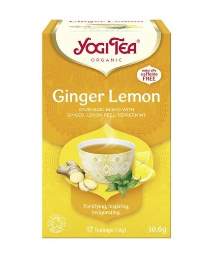Herbata imbir-cytryna bio 17t.