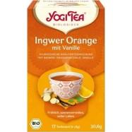 Herbata imbir-pomarańcza-wanilia bio 17t.