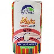 Mąka pszenna jasna typ 550 1kg