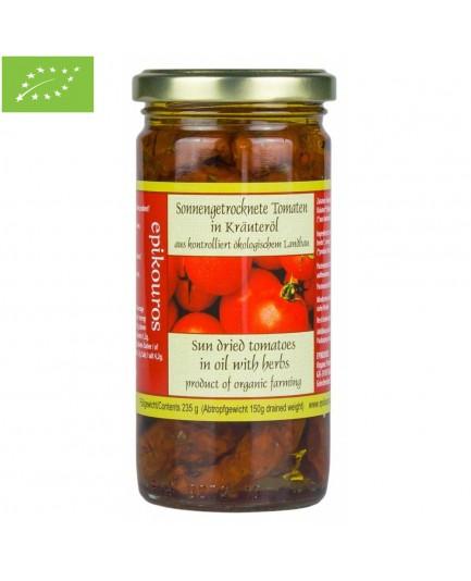 Pomidory suszone w oliwie bio 235g